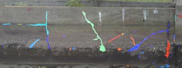 ディープラーニングを使ったUAV壁面画像のひび割れ抽出